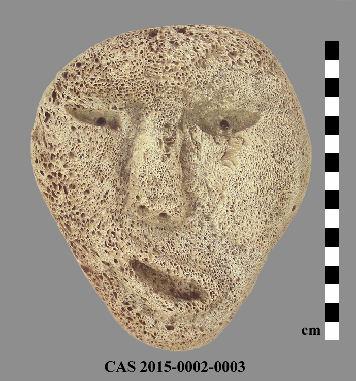 CAS 2015-0002-0003; Carving (mask)