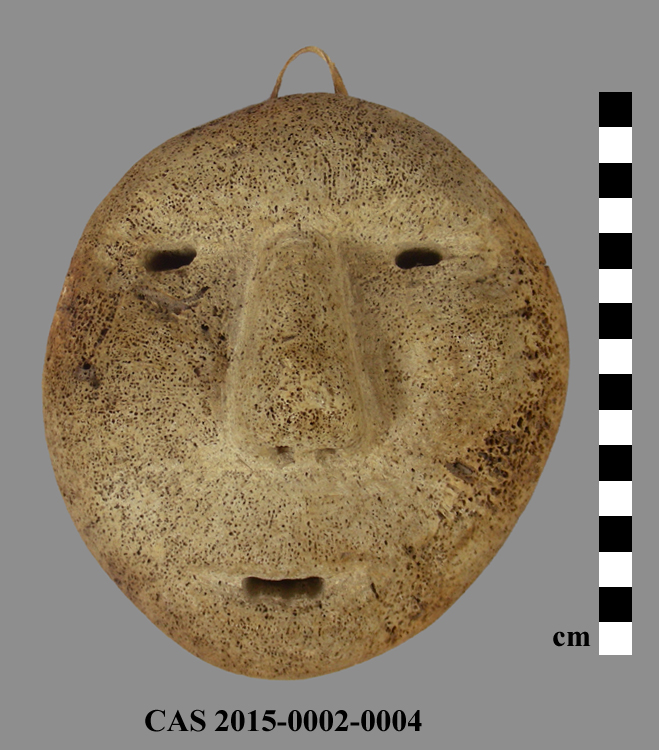 CAS 2015-0002-0004; Carving (mask)