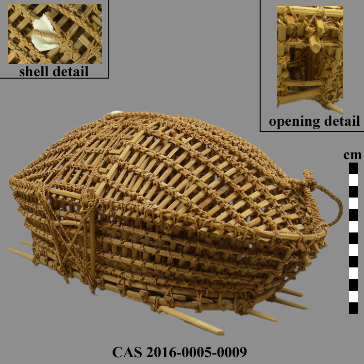 CAS 2016-0005-0009; Fish trap basket