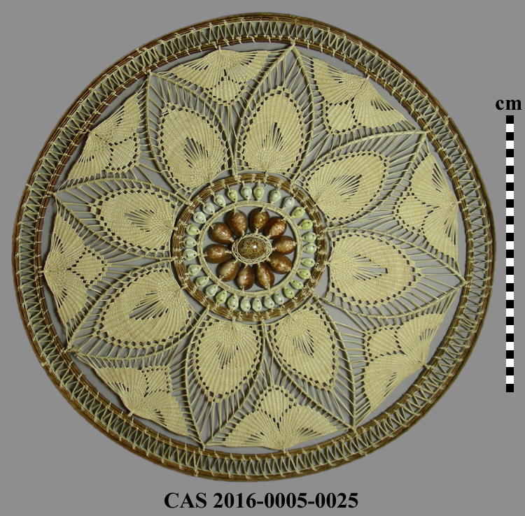 CAS 2016-0005-0025; Basketry tray