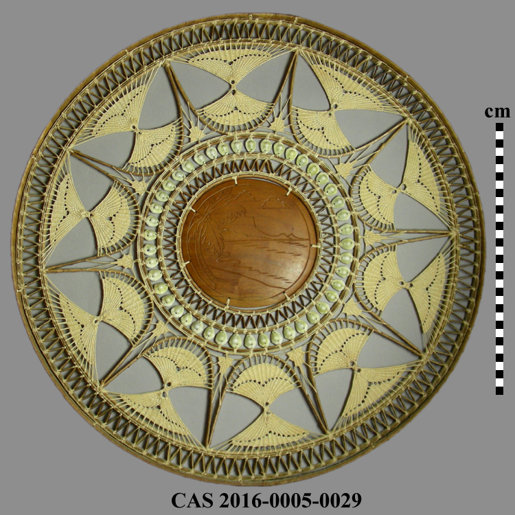 CAS 2016-0005-0029; Basketry tray