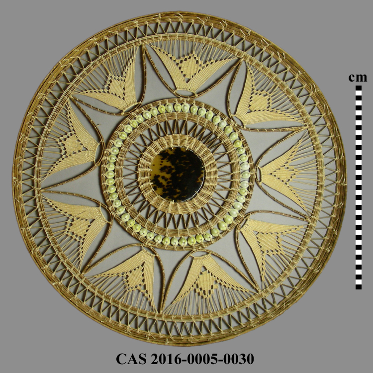 CAS 2016-0005-0030; Basketry tray
